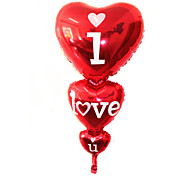 Großhandel Hochzeitsdekoration Ballon Heliumballons iloveyou (Herz)