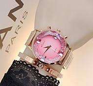 Women's Luxury Sparkle Stainless Steel Quartz Watch