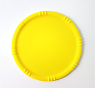Water Leak Silicone Coaster Round Placemat Coaster Bowl Pad Silicone Non-Slip Insulation 5Pcs