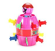 juguete de la novedad juguete del juego Juguetes Juguetes Cilíndrico ABS Rosa / Bronce Para Niños