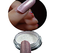 1 Bottle Nail Art Red Glitter Highlight Shining Symphony Chameleon Mirror Powder And 1 pcs Brush Nail Beauty NC355