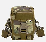 2 L Shoulder Bag Camping & Hiking Leisure Sports Multifunctional Black Nylon Other