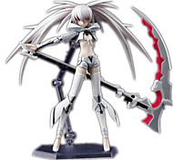 Animation Project Black Rock Shooter Figma Movable Sp-033 White Rock Shooter 1Pcs 16Cm