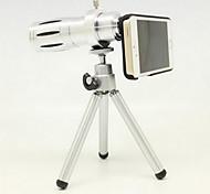 Apple 4 / 4s 5 / 5s 12 volte gm teleobiettivo zoom telescopio esterno macchina fotografica len