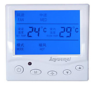 Central Air-conditioning Fan Coil Temperature Controller Three-speed Switch Panel