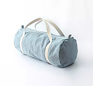 Holdall /Yoga Bag  Waterproof  Vintage Fashion Style Outdoor Sport Denim Light Blue/Dark Blue Men