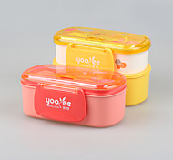 YEEYOO Brand Promotional Microwave Safe Toddler Lunch Box with Spoon