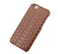 Serpentine Genuine Leather Phone Case for iPhone SE 5 5S