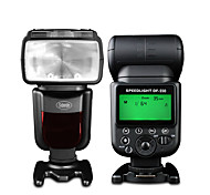 Sidande DF-550 Speedlight SLR Camera External Top Flash Lamp Speedlight for Canon / Nikon / Pentax / Fujifilm / Samsung
