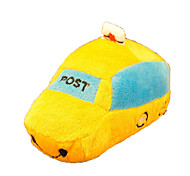 Cat / Dog Pet Toys Plush Toy / Squeaking Toy Squeak / Squeaking / Shoes White / Yellow Plush