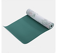 PVC Yoga Mats Eco Friendly Odor Free (1/8 inch) 3.5 mm Green