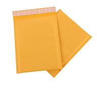Kraft Paper Bubble Envelope Bag International Express Courier Bags 80X230+40