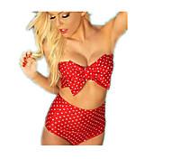 Bikinis(Rot) -Atmungsaktiv- für Damen