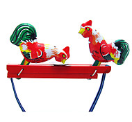 The Chicken Wind-up Toy Leisure Hobby  Metal Red For Kids