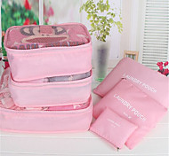 Travel Package Six Pieces Of Waterproof Underwear Bag Travel Storage