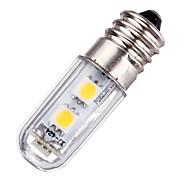 1 E14 Bombillas LED de Mazorca T 77 SMD 5050 60 lm Blanco Cálido / Blanco Fresco Decorativa AC 100-240 V 1 pieza
