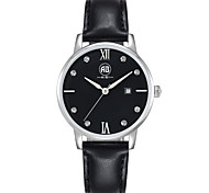 AIBI® Women's Watch Imitation Diamond Calendar Water Resistant/Water Proof Dress Watch Black Designer Wrist Watch With Watch Box