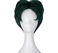 Cosplay Wigs Super Heroes Movie Cosplay Green Solid Wig Halloween / Christmas / New Year Male
