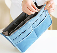 Fashion Makeup Bag WasCosmetic Bag Wash Bag Multifunctional Double Zipper Storage Bags Finishing