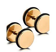 Unisex Fashion Mini Stud Earrings 1-Pair