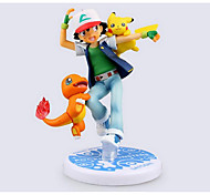 Pikachu pokemon gift box Manual model toyys