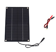 6W 12V Monocrystalline Solar Panel with DC Charge Cable for 12V Battery (SWR6012D)