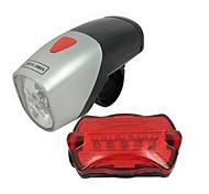 Radlichter Radlichter Leicht mitzunehmen 50 Lumen Batterie Andere Schwarz Radsport-Andere