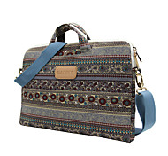 13.3 14.1 15.6 inch Retro Bohemian Style Laptop Bag HandBag For Macbook/Surface/Dell/HP/Samsung/Sony,etc