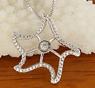 Women's  Silver Sterling Silver Pendant 1PC