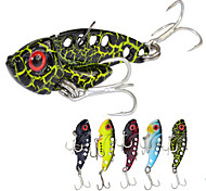 "5pcs/lot pc Jig / Cucchiai / Esca metallica Multicolore 7 g/1/4 Oncia,42 mm/1-5/8"" pollice,MetalloPesca di mare / Pesca a mosca / Pesca a"