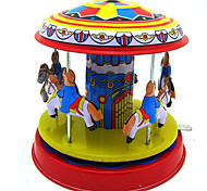 Stress Relievers  Puzzle Toy  Wind-up Toy Novelty Toy  Circular  Merry-go-round Metal Rainbow For Kids