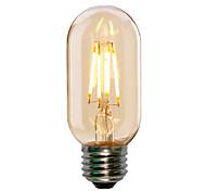 4 E26/E27 LED Glühlampen ST58 4 COB 360LM lm Warmes Weiß / Kühles Weiß Dekorativ AC 220-240 V 1 Stück