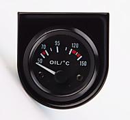"""2 """"52мм 12v температура универсальный указатель автомобиля масла температура манометрическое 40-120 белый привело"""
