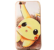 Pocket Monster PKQ Cartoon Pattern PC Material Phone Case for iPhone 5 5S 5E 6 6S 6 Plus 6S Plus