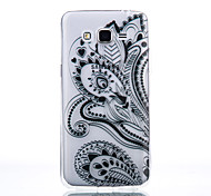 TPU Material Petal Flower Pattern Cellphone Case for Samsung Galaxy J7/J510/J5/J310/G530/G360
