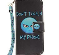 Для Кейс для iPhone 7 / Кейс для iPhone 6 Кошелек / Бумажник для карт / со стендом / Флип Кейс для Чехол Кейс для Животный принт Твердый