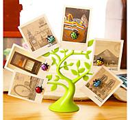 Животные Наклейки 3D наклейки Наклейки на холодильник / Фото наклейки,塑料 материал Съемная Украшение дома Наклейка на стену