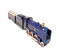 The Train Wind-up Toy Leisure Hobby Metal Blue For Kids