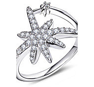 Cubic Zirconia Ring Solid 925 Sterling Silver Engagement Wedding Hot Sale Fashion Jewelry For Women Rings