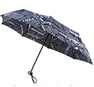 Creative Newspaper Umbrella UV Umbrella Folding Umbrella