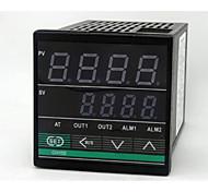 Instrumentação de controlo de temperatura (intervalo de temperatura de 0 ~ 400 ° c; ac-220v)
