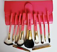 10Pcs Makeup Brush High-Grade Wool Hardcover Gift Box Makeup Kit