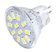 3 GU4(MR11) Faretti LED MR11 12 SMD 5733 250 lm Bianco caldo / Luce fredda Decorativo 9-30 V 1 pezzo