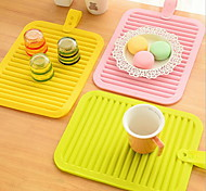 Kitchen Silicone Antiskid Insulated Pad Table Mat