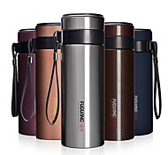 Creative Gifts With Filter Stainless Steel Vacuum Cup
