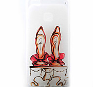 Red High Heels Pattern Material TPU Phone Case for Huawei P9 P8 Lite P9 Lite