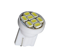 20 PCS Pure White T10 Wedge 8-SMD W5W 168 194 2825 175 LED Interior Light bulbs