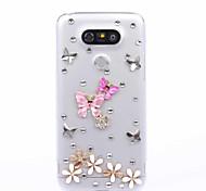 DIY Butterfly Pattern PC Hard Case for Multiple LG G3 G4 G5 G5SE V10 K10 K7 K4