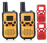 T899C Rádio de Comunicação 0.5W 8 Channels 400 - 470 MHz AAA alkaline battery 3 - 5 kmVOX / Codificação / Tela LCD / Monitores / Explorar