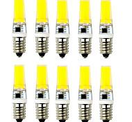 6W E14 / G9 2-pins LED-lampen T 1 COB 500-600 lm Warm wit / Koel wit Decoratief AC 220-240 V 10 stuks